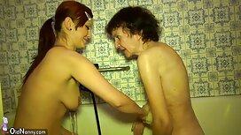 Äiti väkijoukko-puhdas nuori suihkun hyvää pornoa jälkeen
